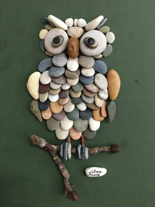 Handy Rock And Pebble Art Ideas For Many Uses34