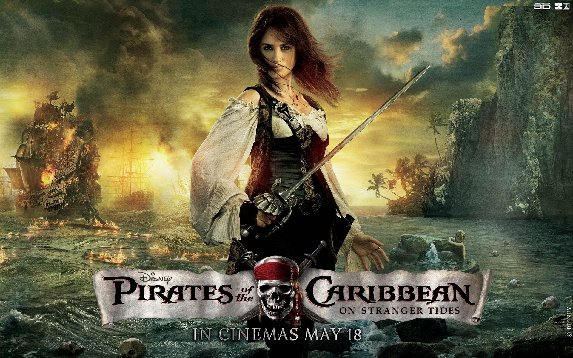 Penelope Cruz Pirates Of The Caribbean Wallpapers In Jpg Format