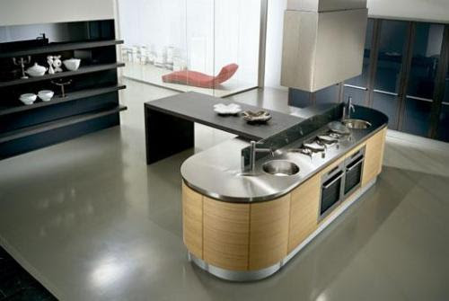 Kitchen Island Designs | Kitchen Island Carts | Granite Kitchen ...