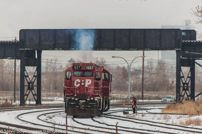 CP 1527 in Calgary Alberta