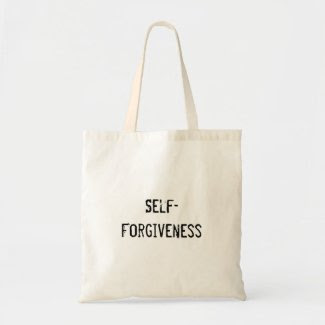 Self-Forgiveness Tote Bags