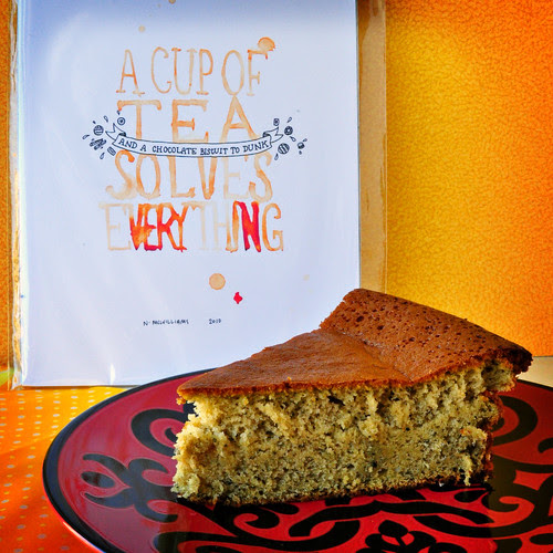 Green Tea Honey Cake