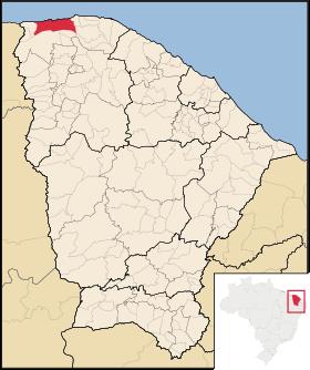 Localização de Camocim
