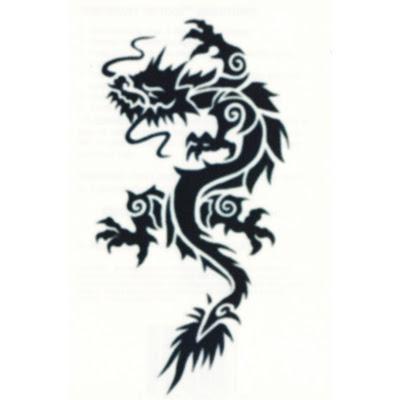 tribal tattoo dragon. Tribal Dragon Eye Tattoo by