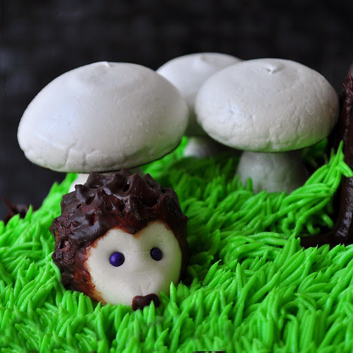 Chocolate Blackberry Hedgehog