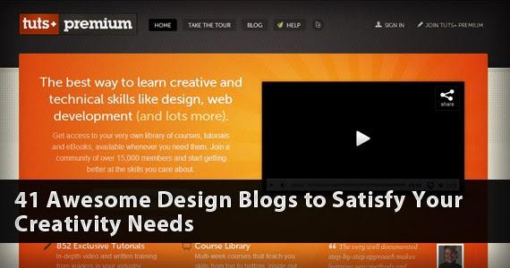 41 مدونات تصميم ممتاز لتلبية حاجاتكم الإبداع