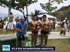 Atleta do Peama conquista título da etapa de Praia Grande da maratona aquática