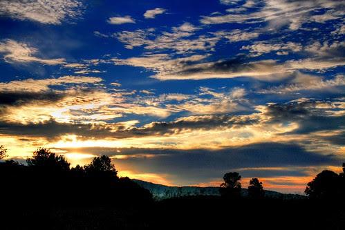 An October Sunrise