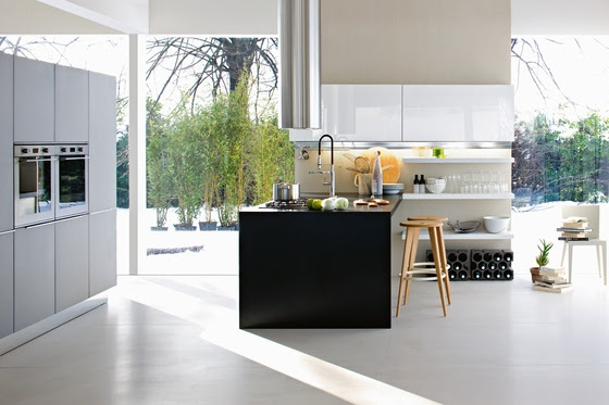 Italian Kitchen is modern and functional. Kitchen ideas by Dada