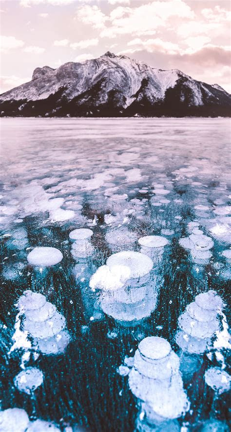 abraham lake canada  iphone wallpapers