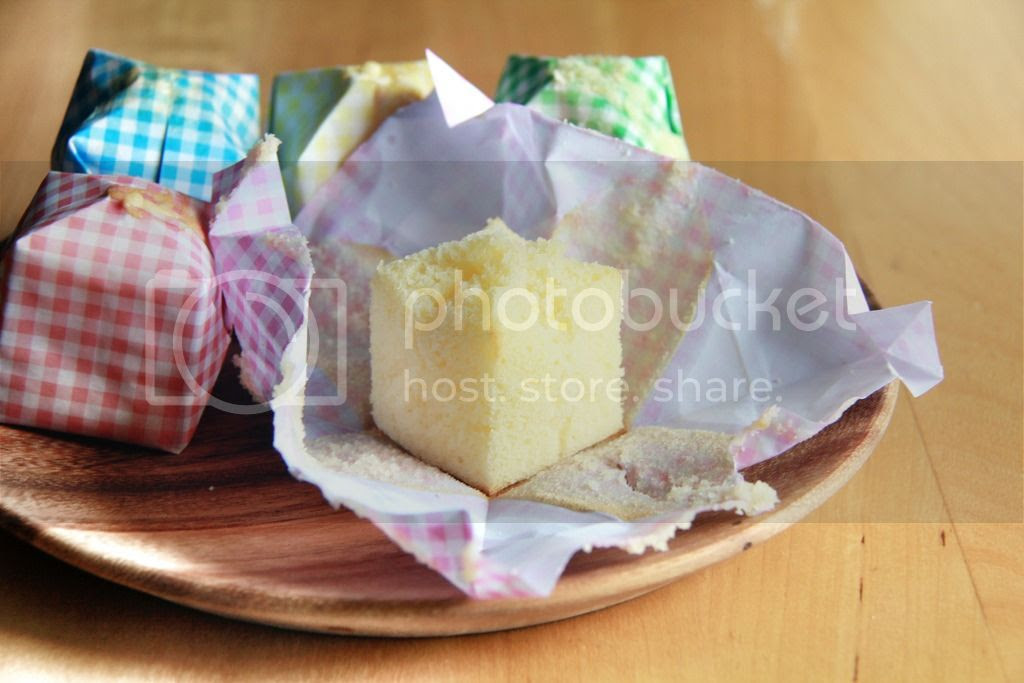 dessert / gifts - origami paper balloon cheesecakes