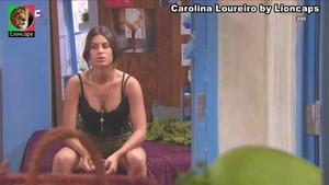Carolina Loureiro sensual no Famashow e na novela Nazare