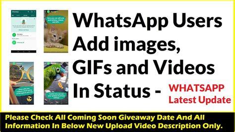 whatsapp status  video kaise add kare whatsapp