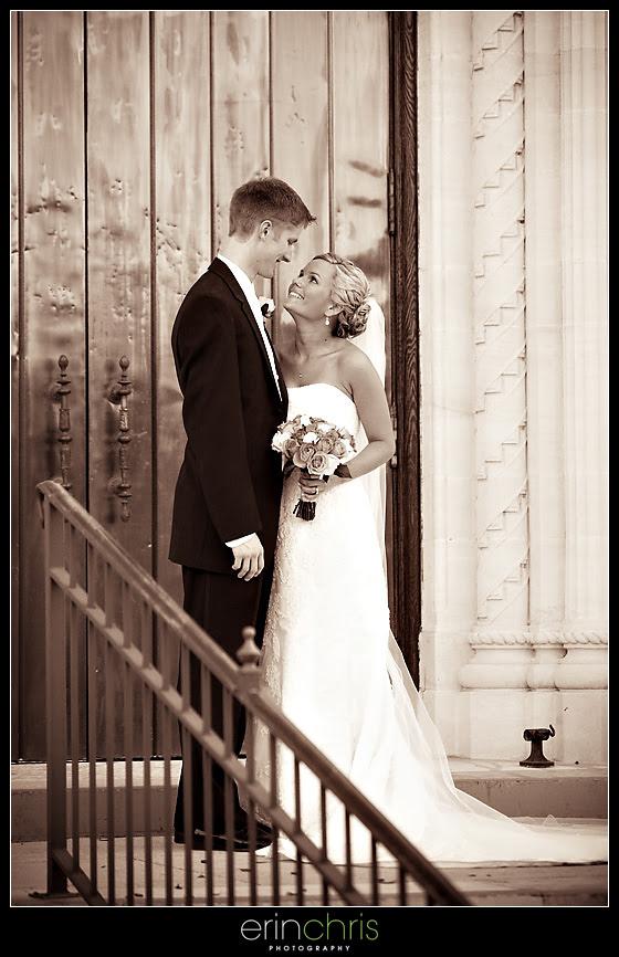 Bride and Groom wedding photo in St. Petersburg, Florida.