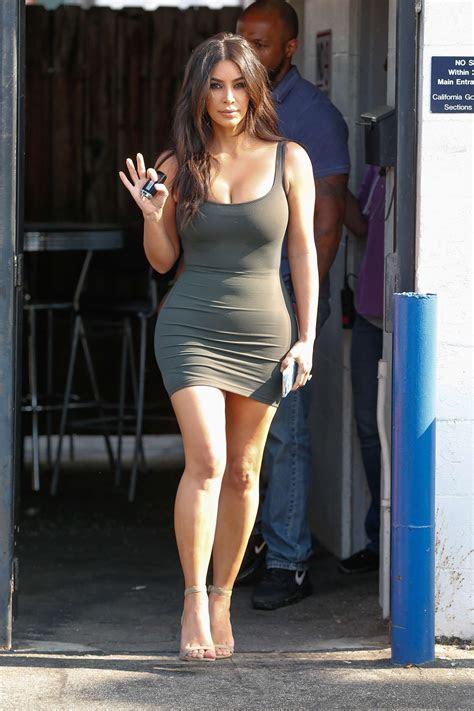 Kim Kardashian in Tight Short Dress  11 ? GotCeleb