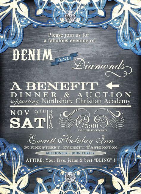Denim and Diamonds   MCCS Auction ideas   Pinterest