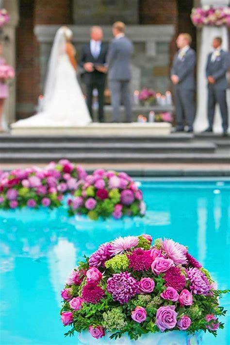 25  best ideas about Backyard wedding pool on Pinterest