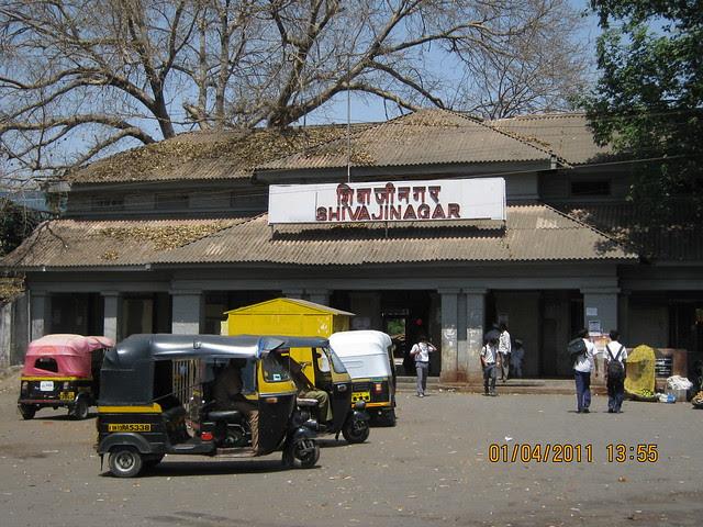 At ShivajiNagar Railway Station for Dajikaka Gadgil Developers' Anant Srishti at Kanhe, near Talegaon, Pune