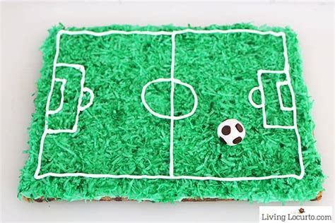 Soccer Cookie Cake   Easy Soccer Party Cake Recipe