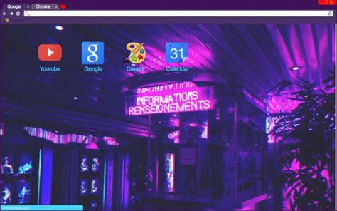 purple aesthetic chrome theme themebeta