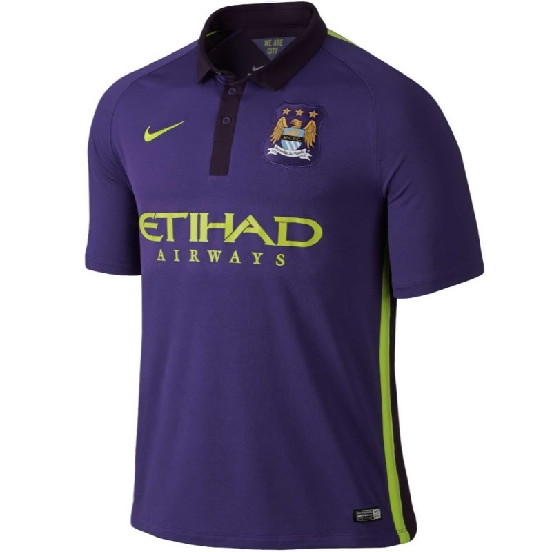 Manchester City FC Third UCL soccer jersey 2014/15 - Nike ...
