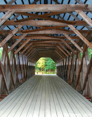 An orb inside the Bennett-Bean Bridge
