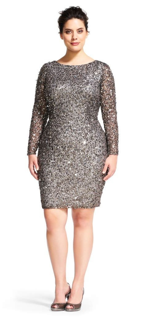 36 Plus Size Wedding Guest Dresses {with Sleeves   Wedding