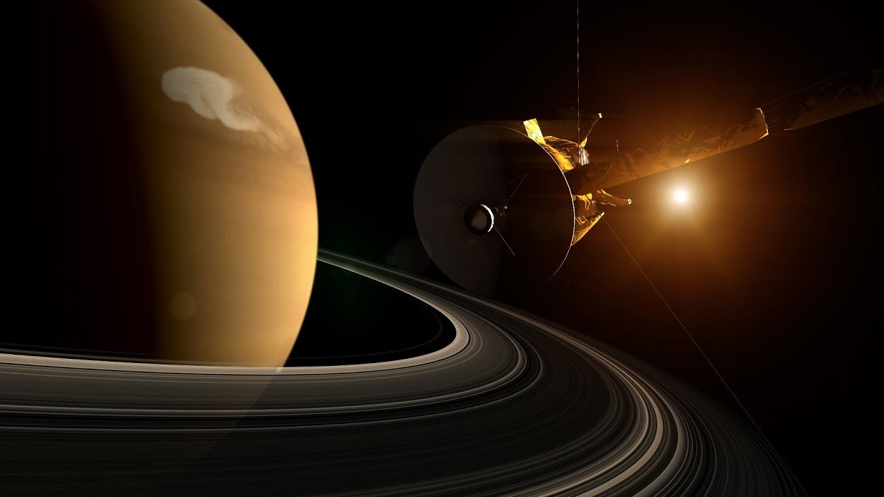 NASA | Saturn's Record-Setting Storm - YouTube