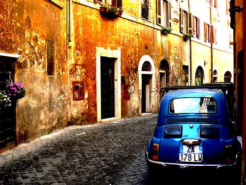 rome, italie, trastevere