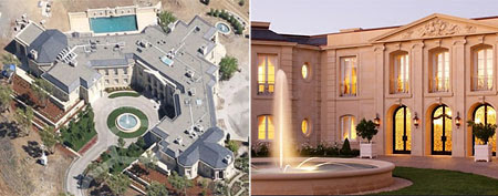 Yuri Milner's $100 million mansion (Photos via Forbes)