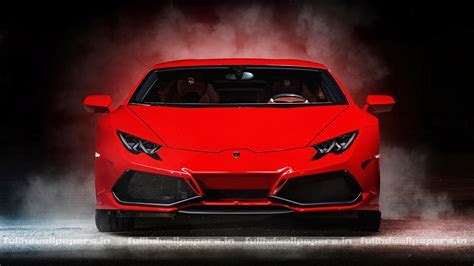 Lamborghini Huracan Red   Full HD Wallpapers