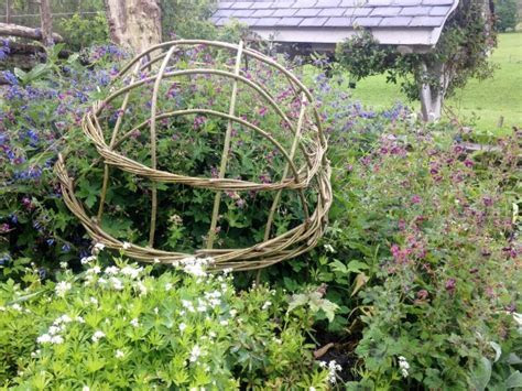 Willow Garden Structures at Humble by Nature, Kate Humble