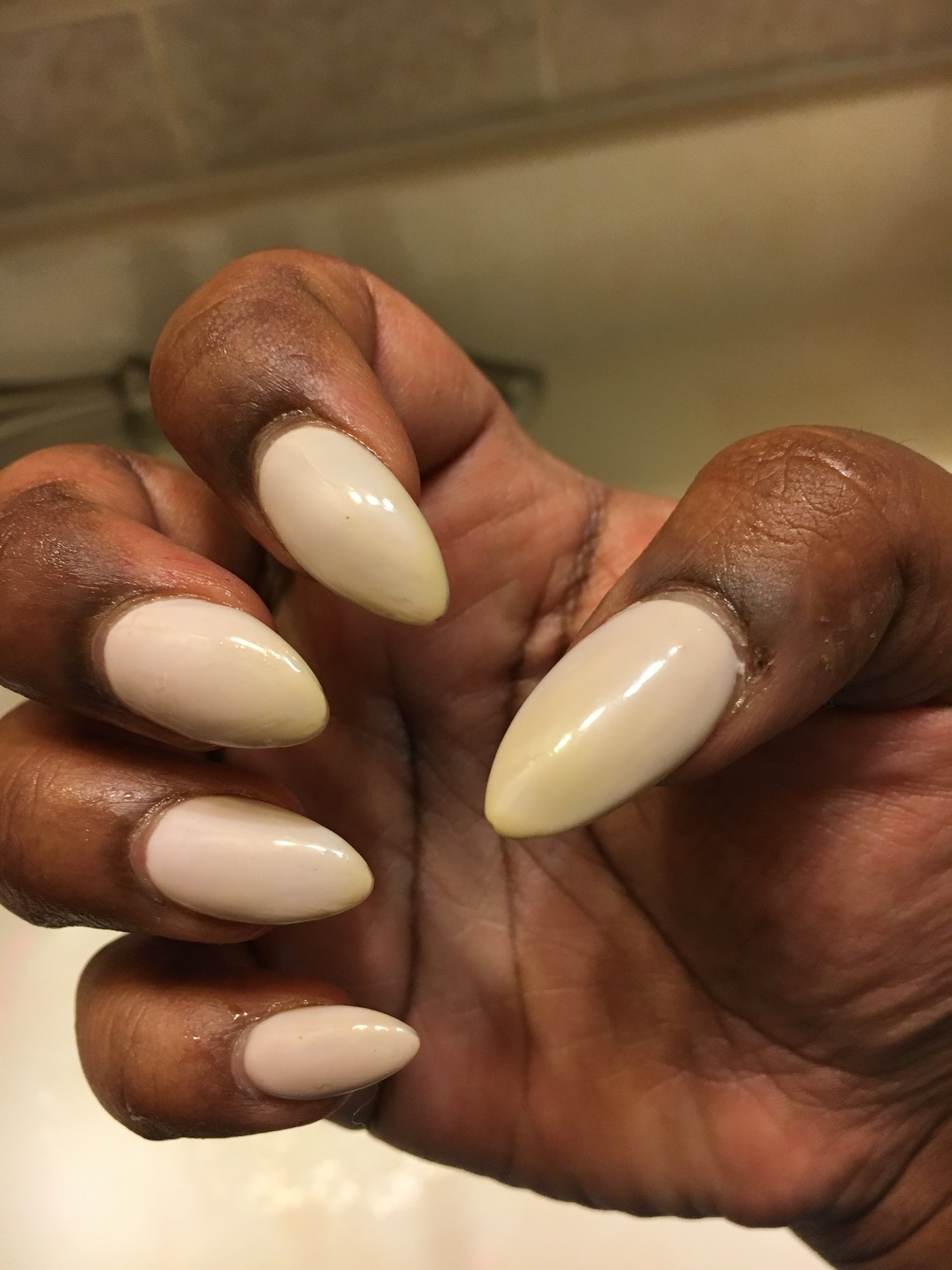 Currystained Gel Nails Misskhanmpls