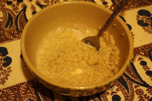 Banana Quinoa pudding