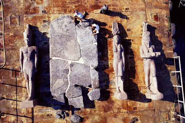 Lost city of Heracleion egypt franck goddio (8)
