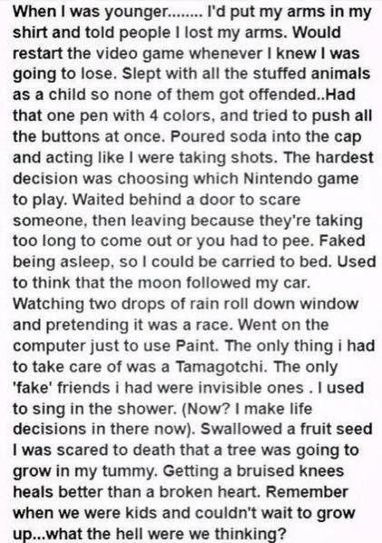 Lol Funny Quotes Childhood True Kids Hahaha Growing Up