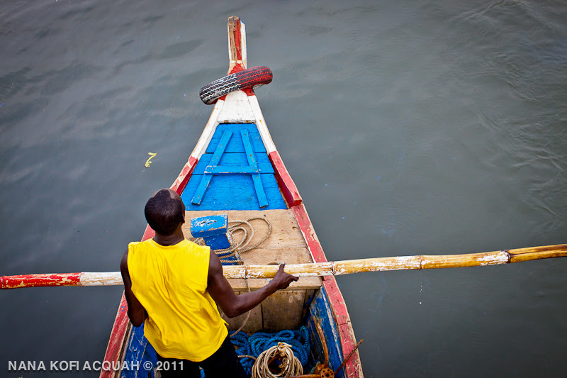 Elmina - going fishing
