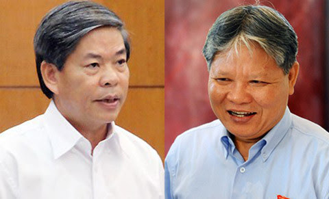 ha hung cuong, nguyen minh quang, question, NA, NA standing committee