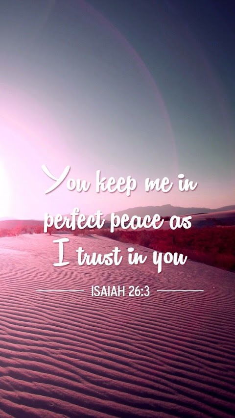 He Ll Keep You In Perfect Peace Lyrics