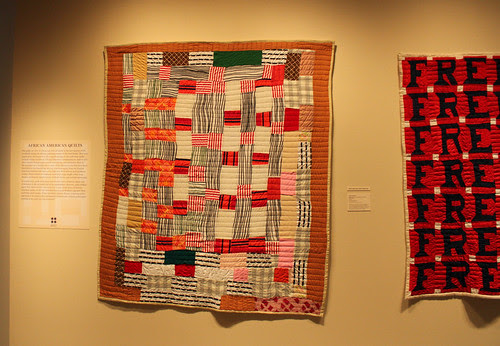 Improvisational Quilts at the Folk Art Museum