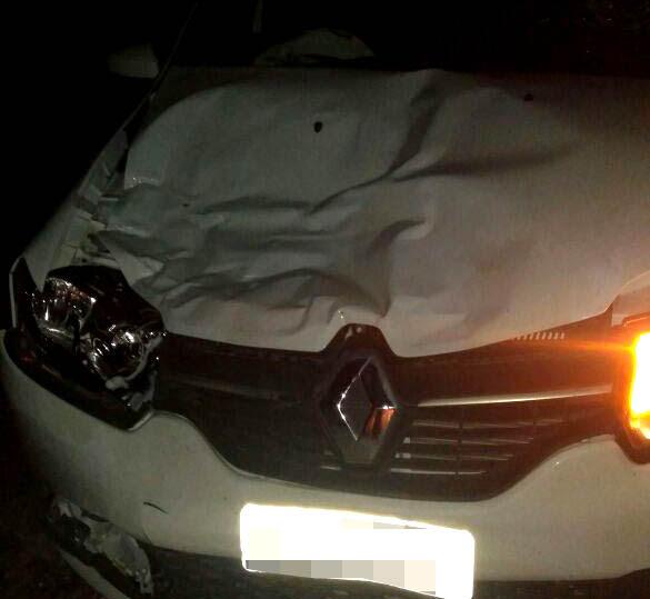 Acidente ocorreu na BA-120, entre Santaluz e Queimadas   Foto: Leitor do Notícias de Santaluz