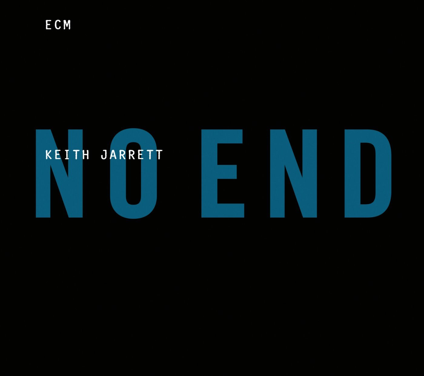 Keith Jarrett - No End cover