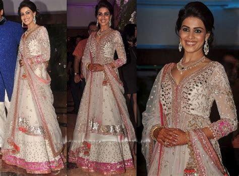 Genelia D?Souza Chiffon Dress Pics At Her Sangeet   Dress