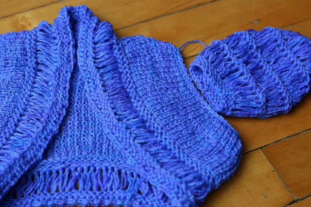 Fail - Pearl Shrug from Vintage Baby Knits