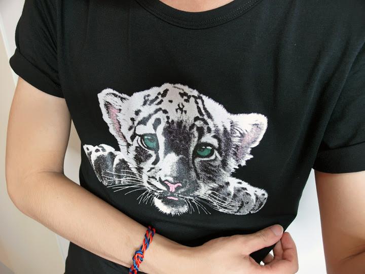 white tiger shirt