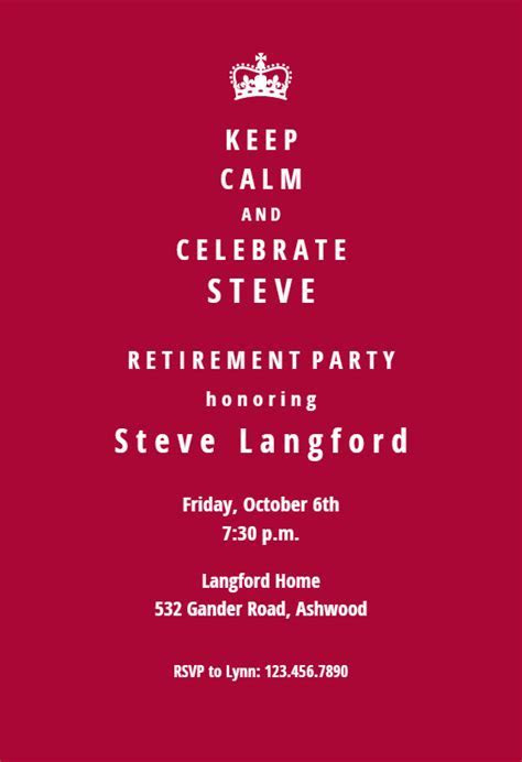 New Chapter   Retirement & Farewell Party Invitation