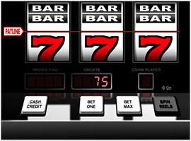 Slot machine random number generator