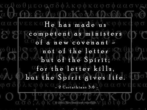 2 Corinthians 3:6 [47 kb]