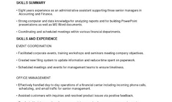 14 best Administrative Functional Resume images on Pinterest Cv format, Resume format and