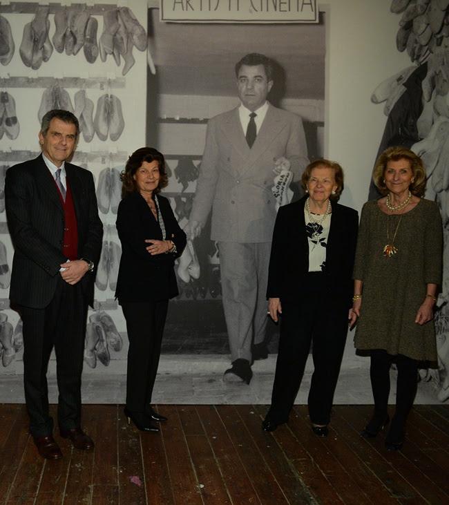 2 SALVATORE FERRGAMAMO ATELIER EVENT Ferruccio Ferragamo, Fulvia Ferragamo, Wanda Ferragamo, Giovanna Gentile Ferragamo
